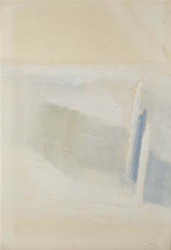 Geneviève ASSE (née en 1923) Composition, 1966