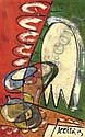 Art Contemporain:   BOHOMIL KECIR (1904-1987) -, Bohomil Kecir, Click for value