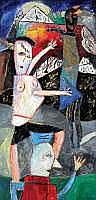 Art Contemporain:  ELIANE LARUS (né en 1944) -