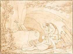Philibert Benoît de LA RUE (1718-1780) - Saint