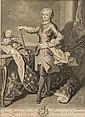 Nicolas de LARMESSIN (1684-1755) Louis Quinze Roy de France et de Navarre