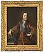 Attribué à Pierre GOBERT(1662-1744) Portrait de Louis XV