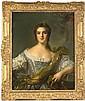 École FRANÇAISE du XXe siècle, d'après Jean Marc NATTIER Portrait de Marie Louise Thérèse Victoire de France, fille de Louis XV et Mar