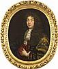 École FRANÇAISE du XVIIIe siècle, suiveur de Pierre MIGNARD Portrait d'homme