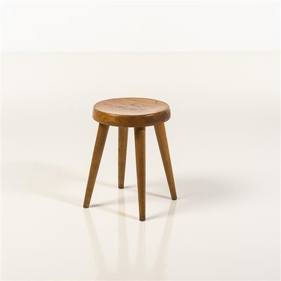 Charlotte perriand 1903 1999 tabouret bois - Tabouret charlotte perriand ...