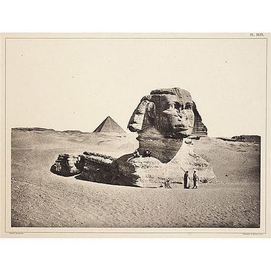 Émile BÉCHARD L'égypte et la Nubie