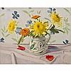 Augustin Rouart (1907-1997) Vase de fleurs Huile sur toile Signée en bas à droite, monogrammée en haut à gauche 33 x 41 cm, Augustin Rouart, Click for value