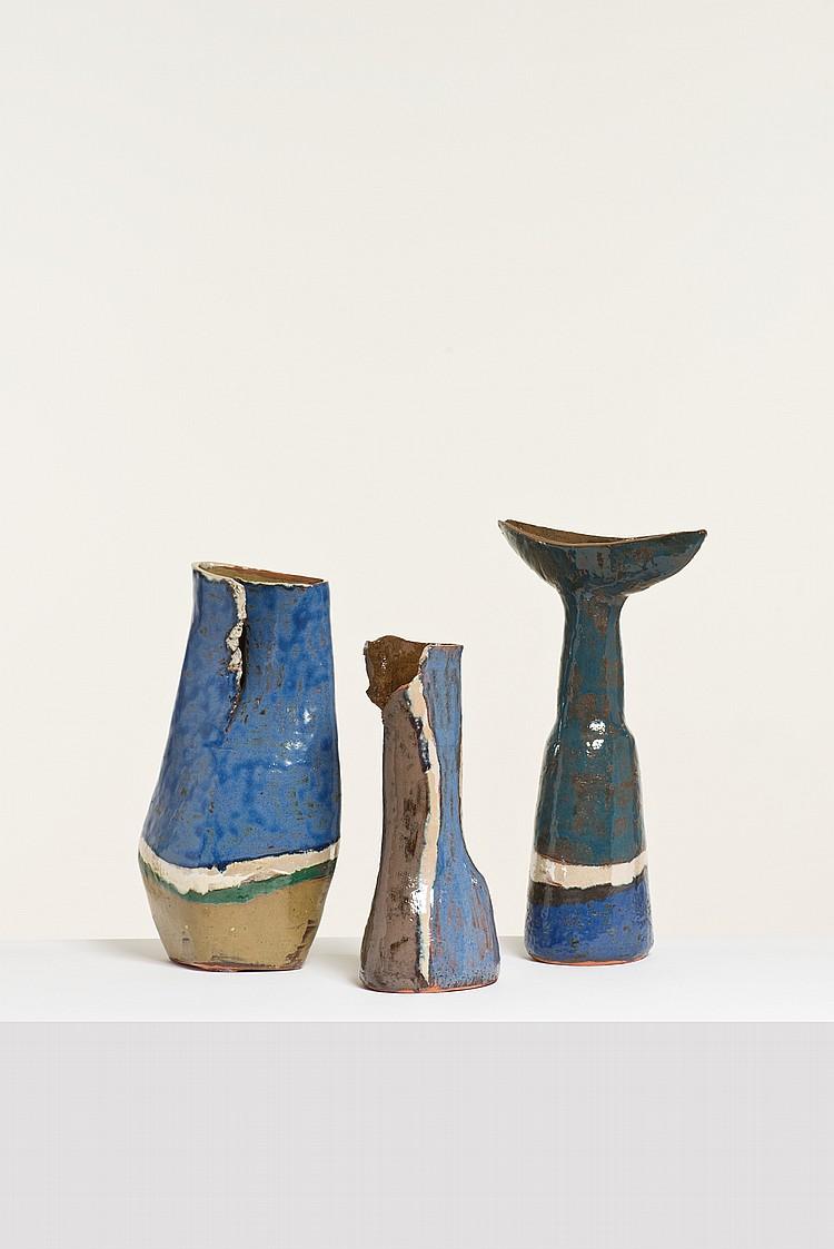 Juliette Derel (1918-2007) Trois vases