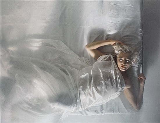 Douglas KIRKLAND (né en 1934) Marilyn, 1961 Tirage jet d'encre couleur réalisé en 2002 pour l'exposition « Una notte con Marilyn » a...