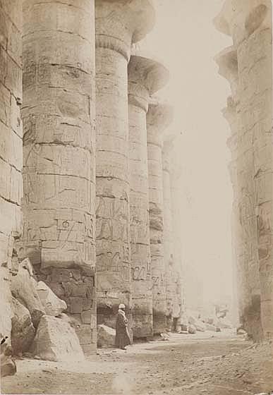 J. Pascal SÉBAH et divers photographes (1823-1886) « Souvenir de voyage en Orient. Égypte, n°1 », années 1870-1880 Portfolio conten...