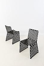 Xavier Lust (né en 1969) Gun Metal Chair
