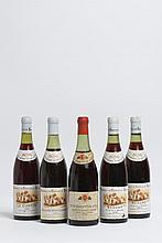 Ensemble de 5 bouteilles 2 bouteilles BEAUNE
