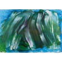 Jean Messagier (1920-1999) La grande fracture des matins, 1992
