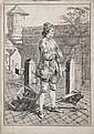 Augustin de Saint-Aubin (1736-1807) (d'après) Scieur de bois. Planche de la suite Mes Gens ou Les Commissionnaires ultramontains. 1768, Augustin de Saint-Aubin, Click for value
