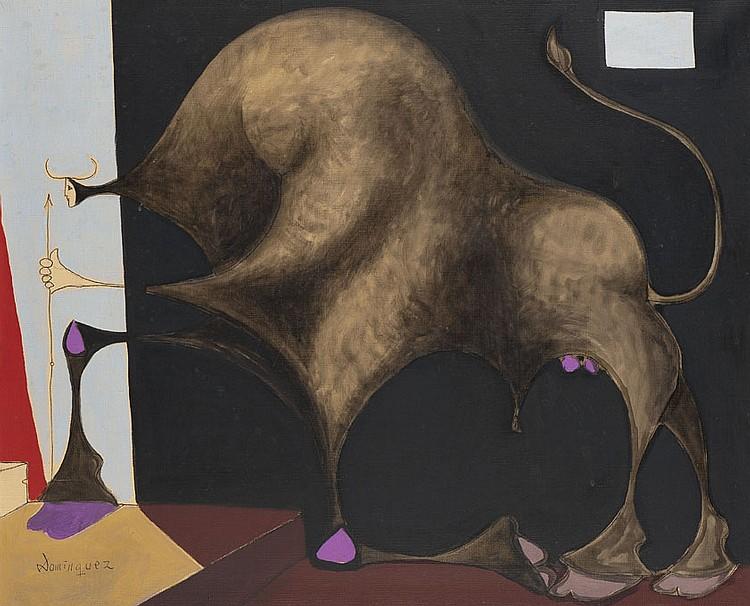 Oscar DOMINGUEZ (1906-1957) Le Minotaure