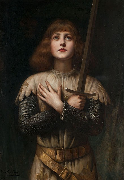Paul-Antoine de LA BOULAYE (1849-1926) Sainte Jeanne d'Arc, 1909