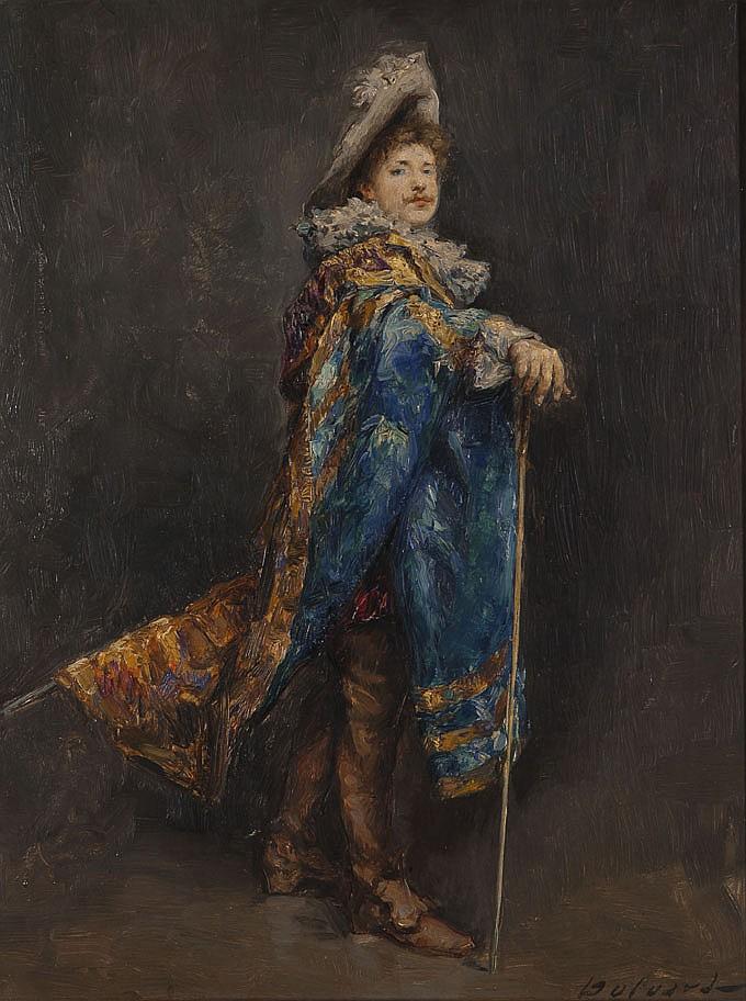 Hippolyte DULUARD (1871-1953) Le Mousquetaire