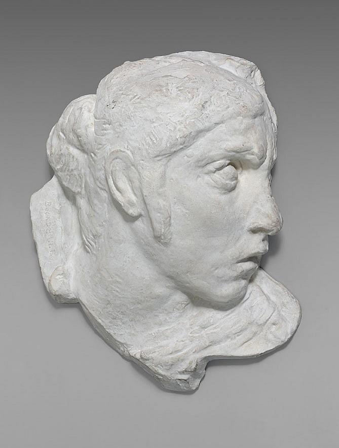 Emile-Antoine BOURDELLE (1861-1929) Masque de guerrier