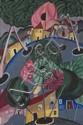 Francis SMITH (1881-1961) Vue de village, c. 1927-1928