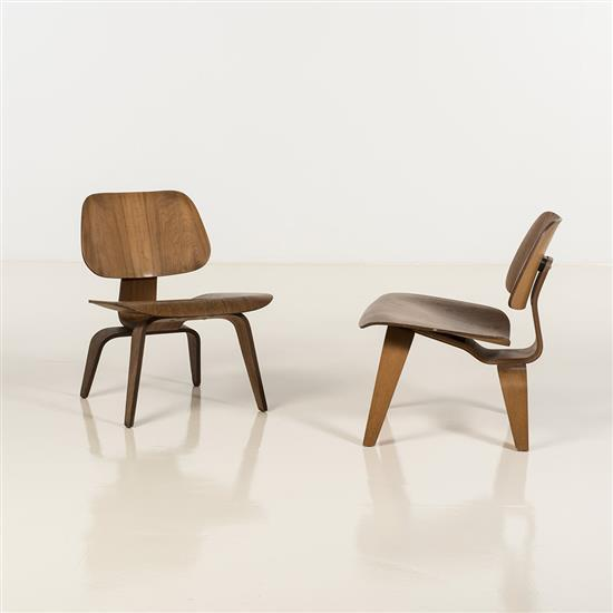 "Charles & Ray Eames (1907-1978 & 1912-1988)LCW, ""Lounge Chair Wood"""