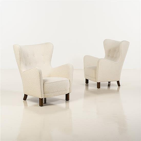 Fritz HansenPaire de fauteuils