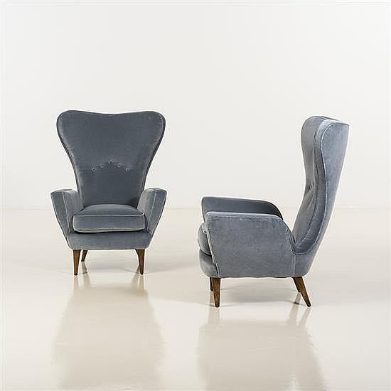 Emilio Sala et Giorgio MadiniPaire de fauteuils