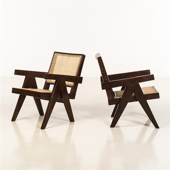 Pierre Jeanneret (1896-1967)Easy Armchair
