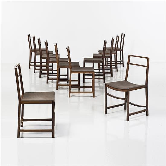 Renato VenturiSuite de douze chaises