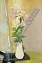 RENE GENIS (1922-2004) - L'OPALINE BLANCHE, René Genis, Click for value