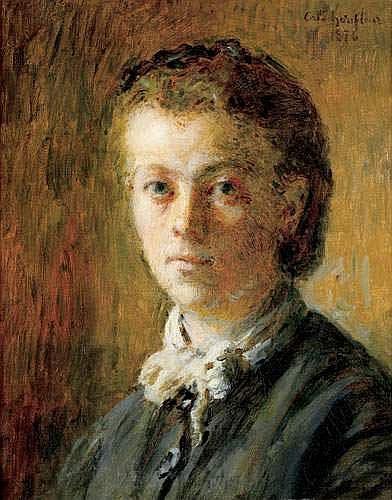 ADOLPHE FELIX CALS (1810-1880) - PORTRAIT DE JEUNE