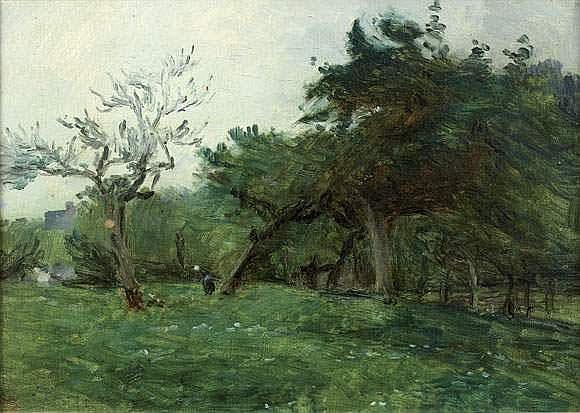 ADOLPHE FELIX CALS (1810-1880) - LA FERME DE