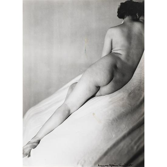 Laure ALBIN-GUILLOT (1879-1962) Étude de nu, années 1930
