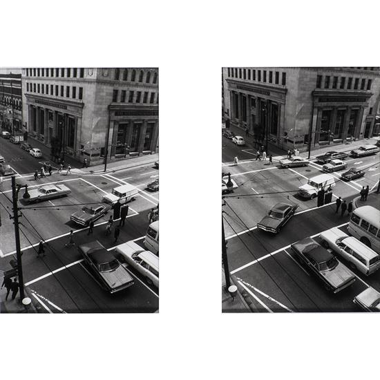 Ian Wallace (1943)Double intersection, 1970