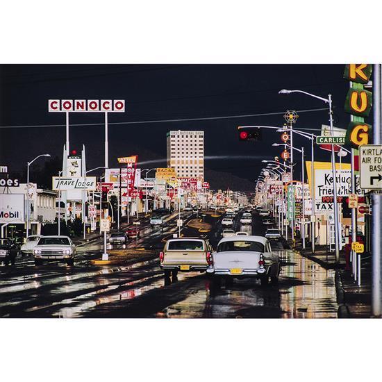 Ernst Haas (1921-1986)Route 44, Albuquerque, Nouveau Mexique, 1969