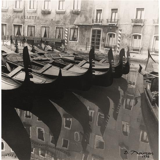Takis Tloupas (1920-2003)Venise, 1956