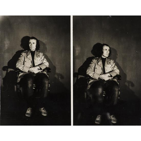Vito Acconci (1940)Performance test, 1969