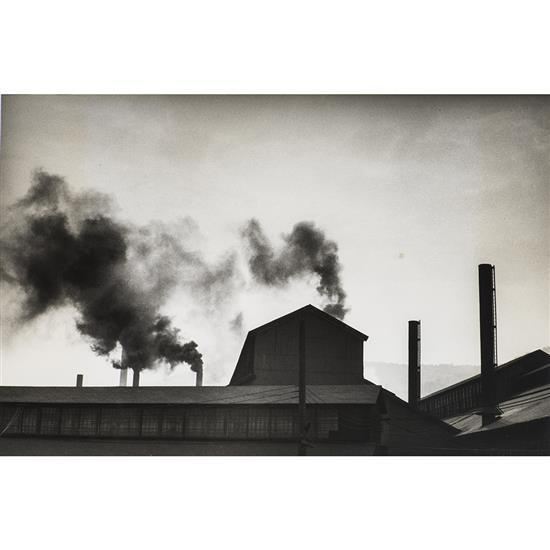 Walker Evans (1903-1975)Factory, vers 1950