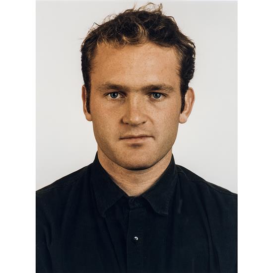 Thomas Ruf (1958) Portrait, M. Vossing, 1991