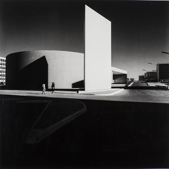 Marcel Gautherot (1910-1996)Ciné Brasilia, architecte oscar Niemeyer