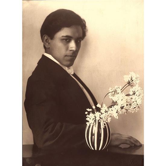 Frantisek Drtikol (1883-1961)Portrait de Hilbert Vavra (Gilbert Vavre)