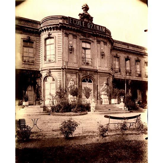 Eugène Atget (1857-1927)Ecole Ozanam, Asnières ancien château René Voyer