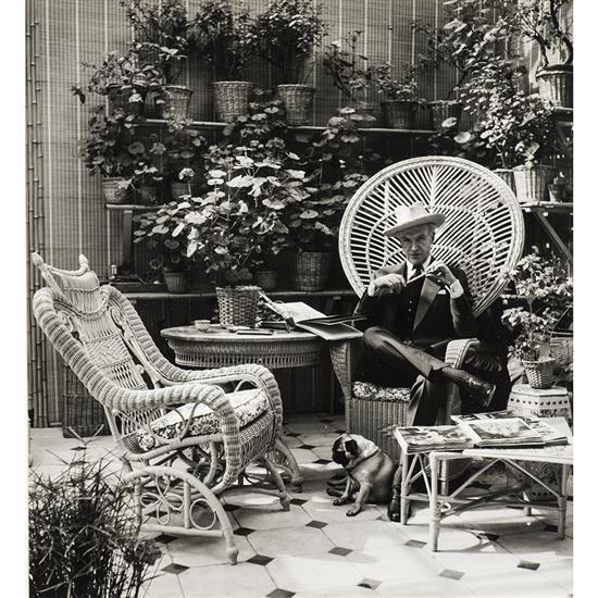 Douglas Glass (1901-1978)Portrait de Cecil Beaton, 1958