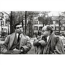 Henri Cartier-Bresson (1908-2004)Bob et Chim, Portrait de Robert Capa et David
