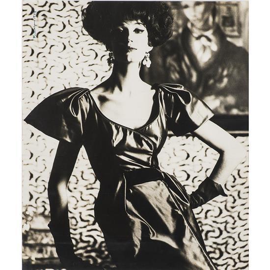 Tom Kublin (XXe)Mode pour Balenciaga, Paris 1958