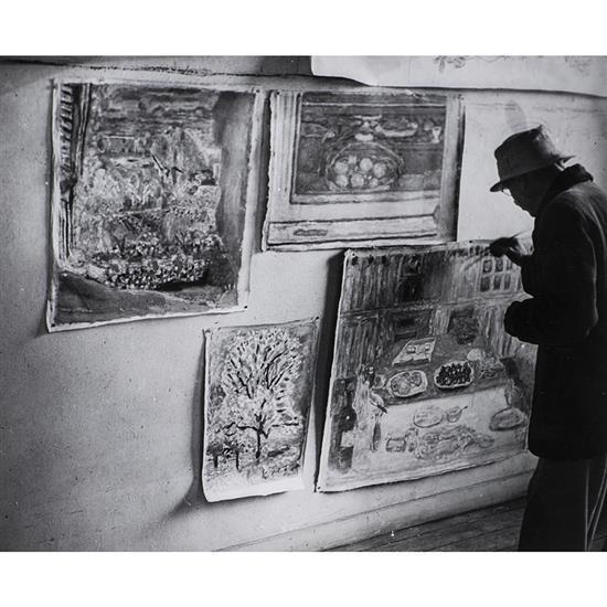 Brassaï (1899-1984)Pierre Bonnard au Cannet, 1946