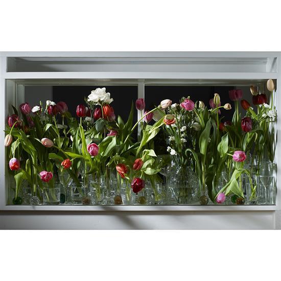 f    Irina Polin (1971-2014)Night Flowers, de la série Flowers, 2010
