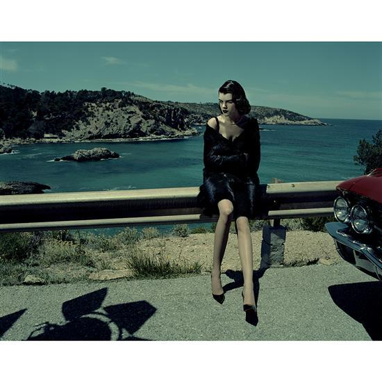 Jacques Olivar (1941)Black dahlia, Antonia, Baleric Islands, 2013