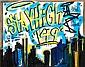 Stayhigh 149 (1950-2012) New-York Skyline Indigo, 2011