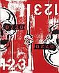 SEEN (né en 1961) Skull painting #2, 2012