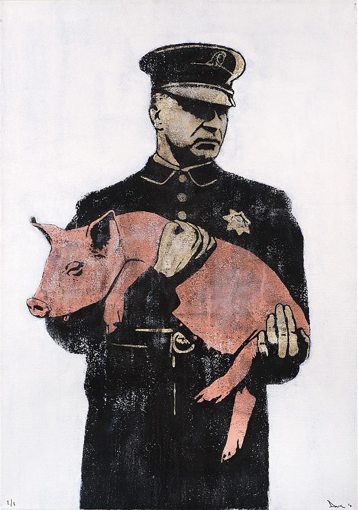 DOLK (né en 1980) Pig, 2010